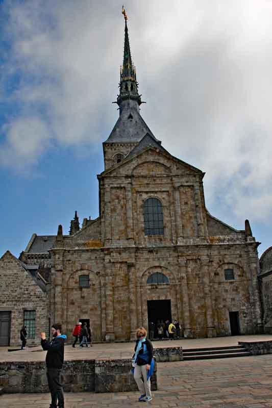 Bild 27 Abteikirche - Mont-Saint-Michel