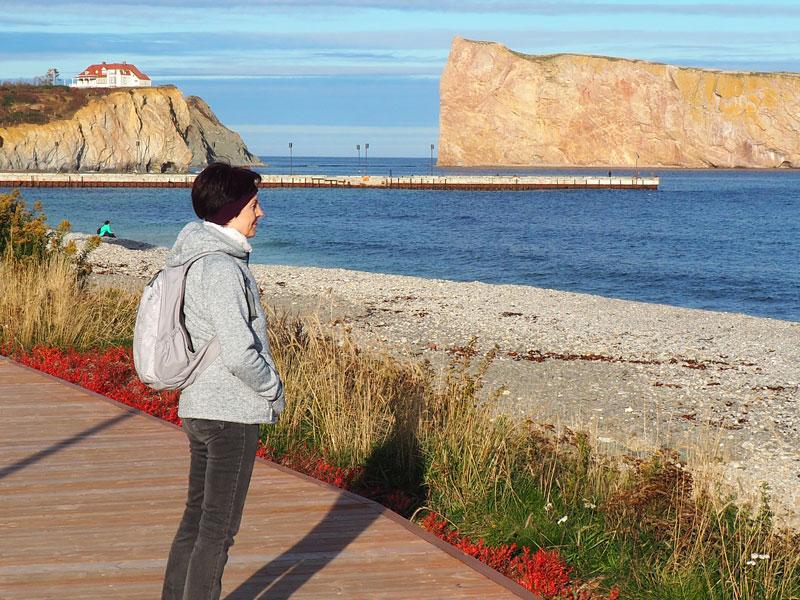 Bild 13 die Promenade von Perce
