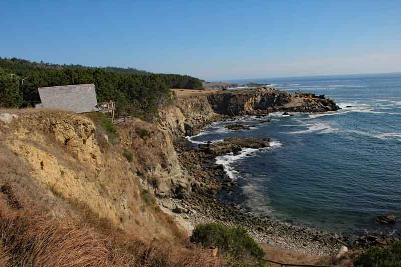 Bild 24 Wanderung an der Steilküste am Pazific