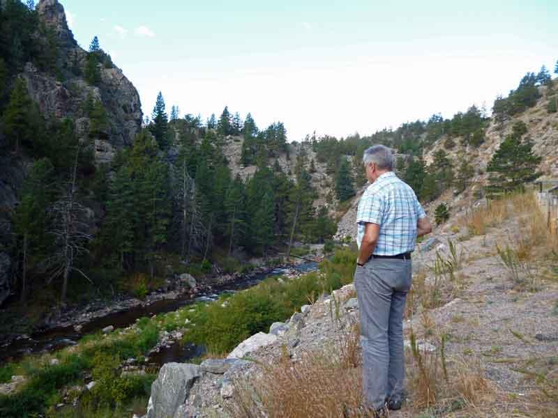 Bild 3 Auf der Strecke von Estes Park nach Laramie