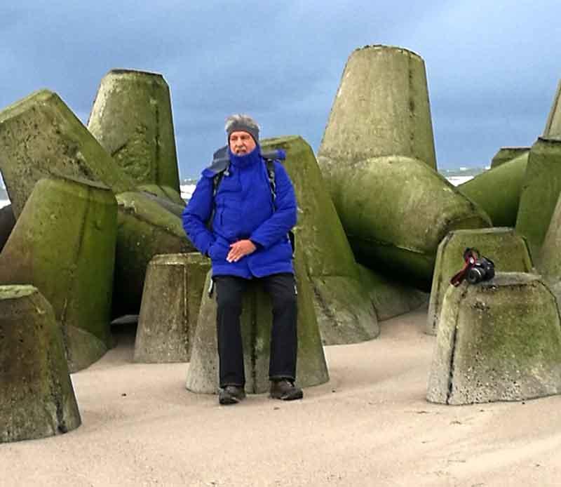 Bild 6 Zwischen den Wellenbrechern an der Südspitze von Sylt