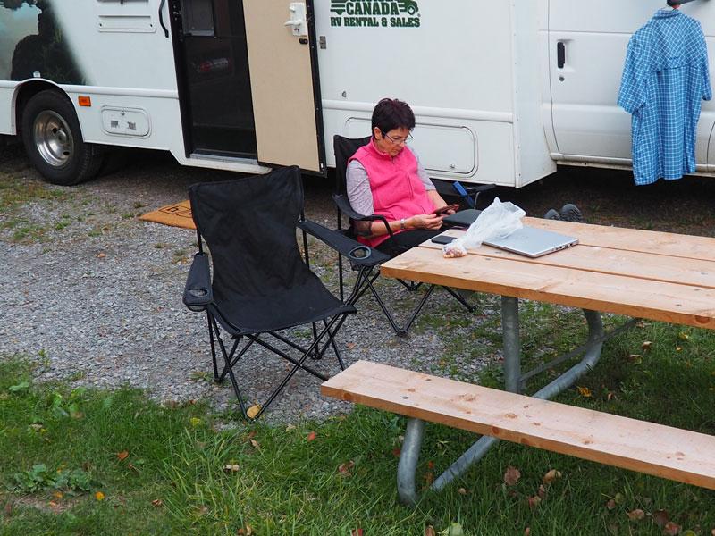 Bild 18 Unser Platz auf dem Five Points Campground