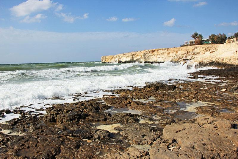 Am Strand von Ras al Hamra