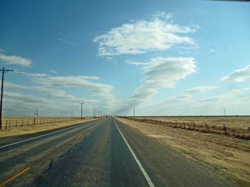 Bild 13 Unterwegs auf der Route 66 in Texas