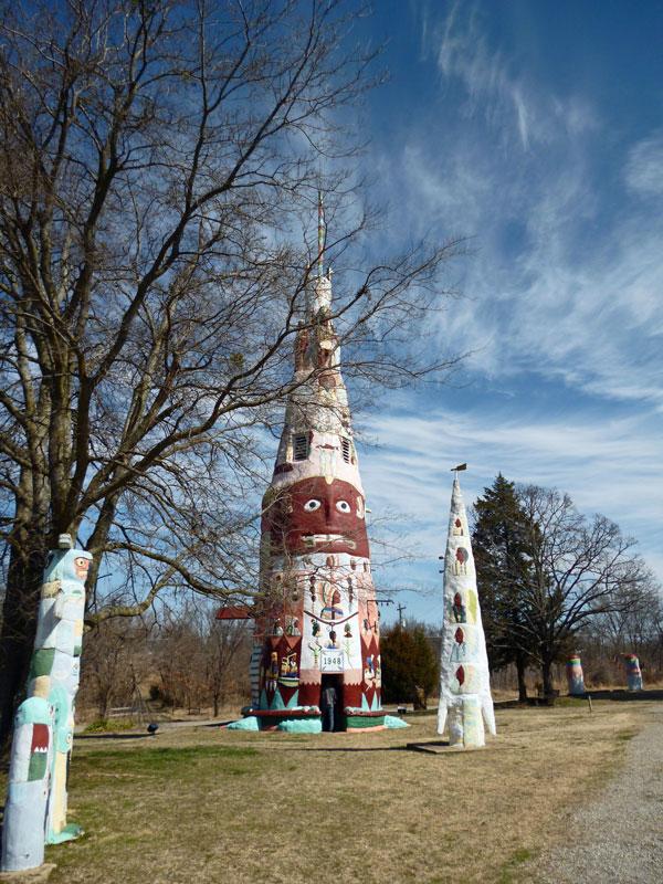 Bild 9 Größter Totem Pole im Park