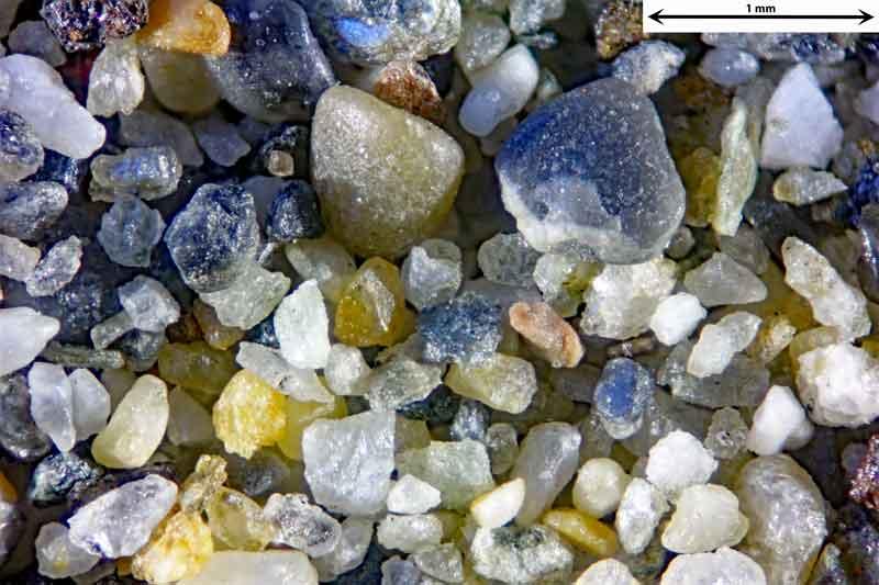 Bild 3 Sand aus Alanya/Türkei