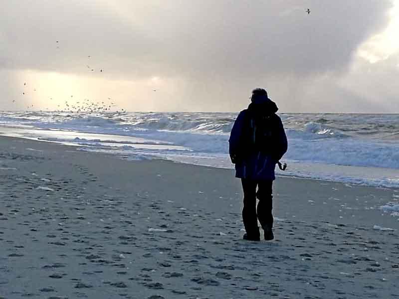 Bild 21 Immer am Rande der Nordsee entlang, Vorsicht vor den Wellen