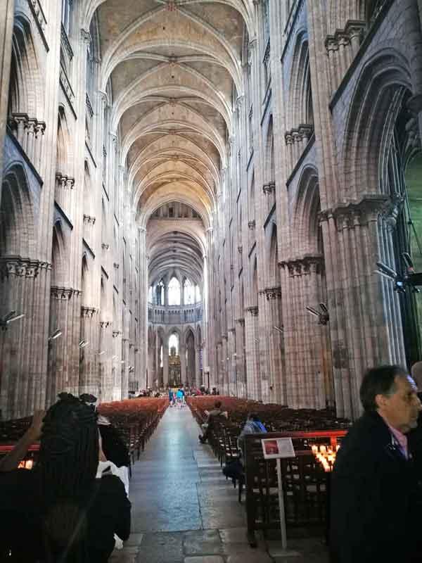 Bild 25 In der Kathedrale von Rouen