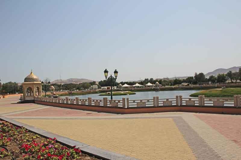 Bild 8 Im Qurum Park in Muscat