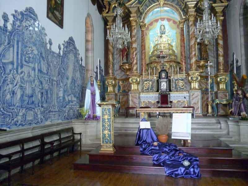 "Bild 9 In der Kirche ""Santa Maria Maior"""