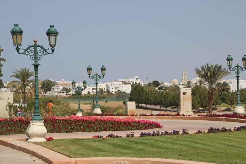 Bild 1 Im Qurum Park in Muscat