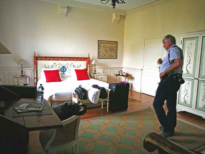 """Bild 16 Unser großes Zimmer im """"Manoir de la Fieffe"""""""
