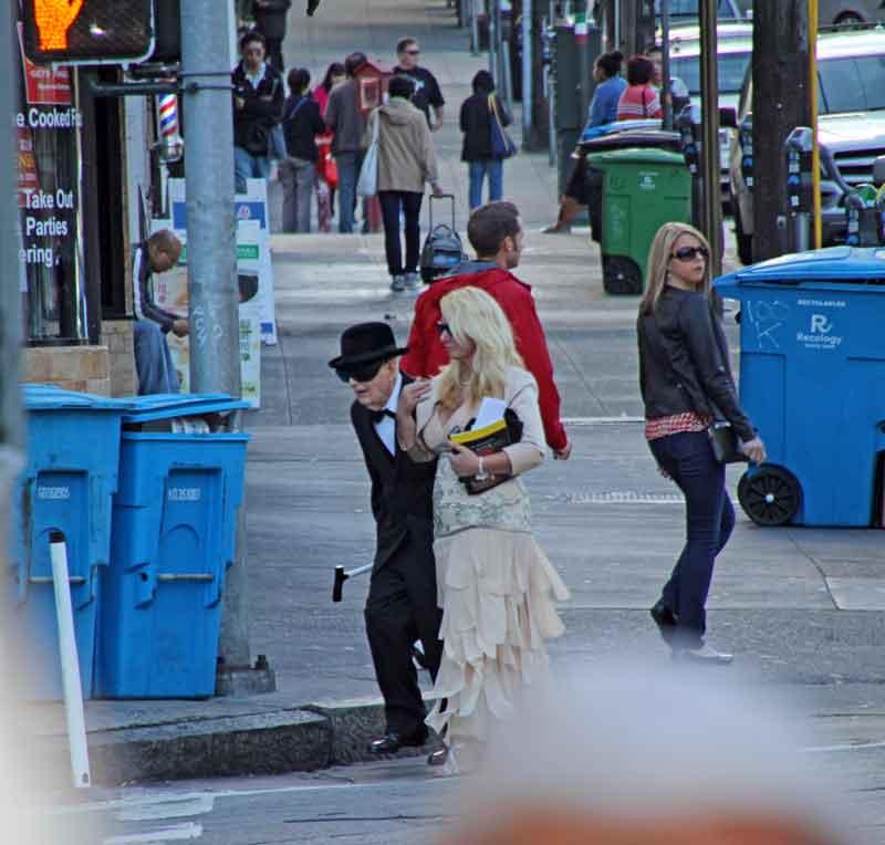 Bild 31 Das Leben in den Straßen von San Francisco