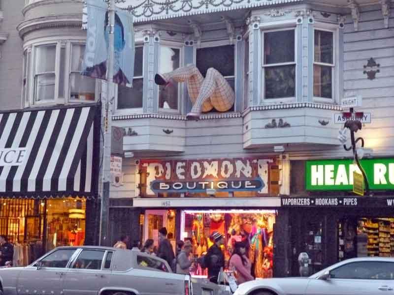 Bild 71 Läden in der Haight Street
