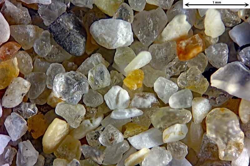 Bild 1 Sand aus Le Treport/Frankreich