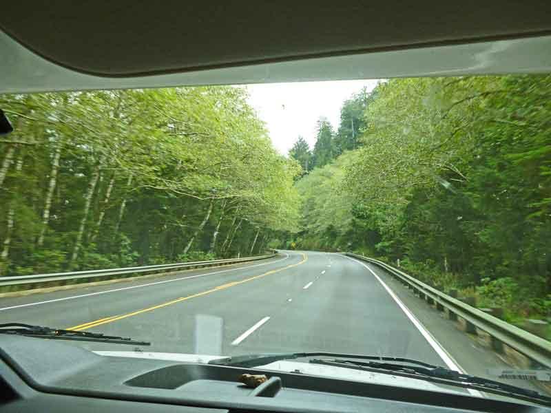 Bild 14 Auf dem Weg auf der 101 in Oregon zum South Beach