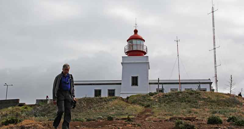 Bild 5 Am Leutturm von Ponta do Pargo