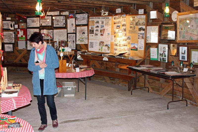 """Bild 19 Museum und kleiner shop in der """"Round Barn"""""""