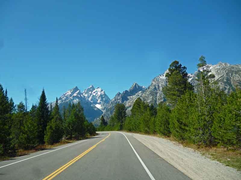Bild 6 Auf dem Weg zum Jenny Lake im Grand Teton Nationalpark