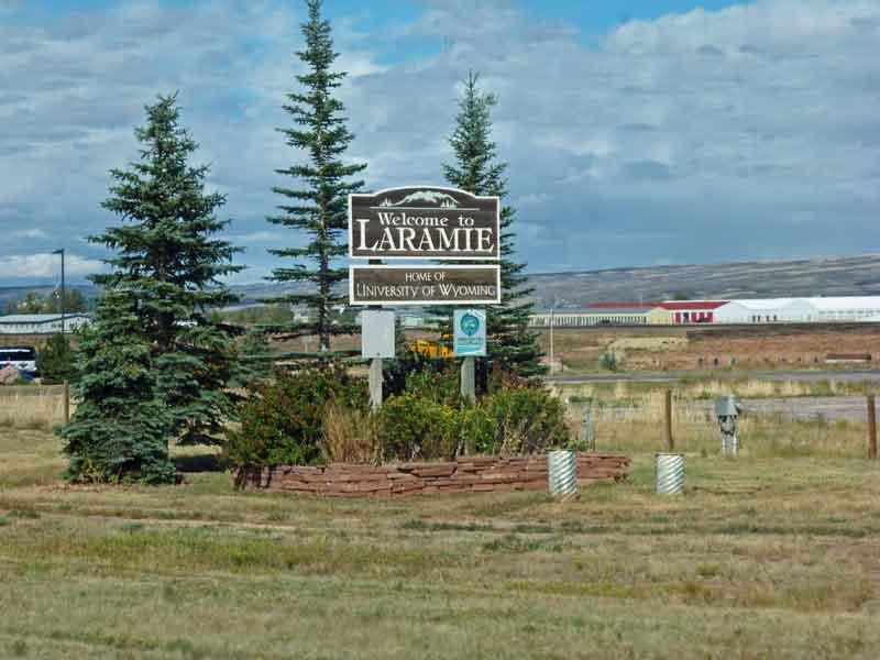 Bild 10 Einfahrt nach Laramie
