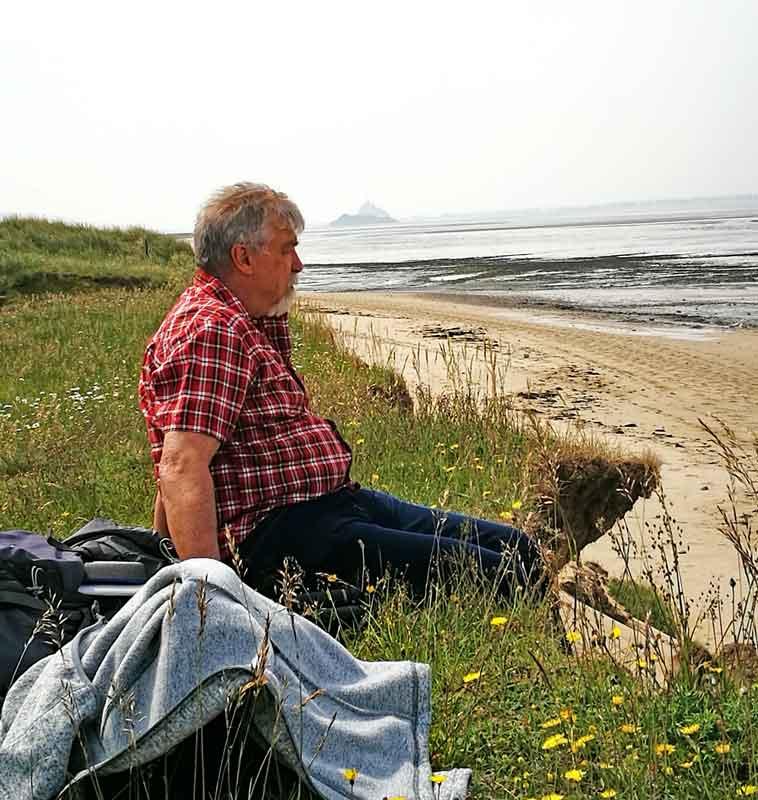 Bild 14 Am Strand von Dragey Ronthon