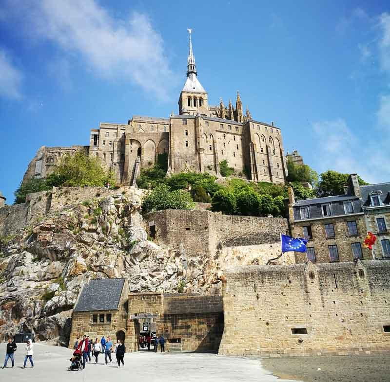 Bild 8 Vor Mont-Saint-Michel