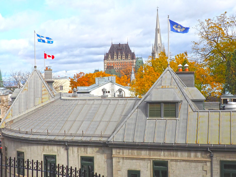 Bild 35 Bummel durch Quebec
