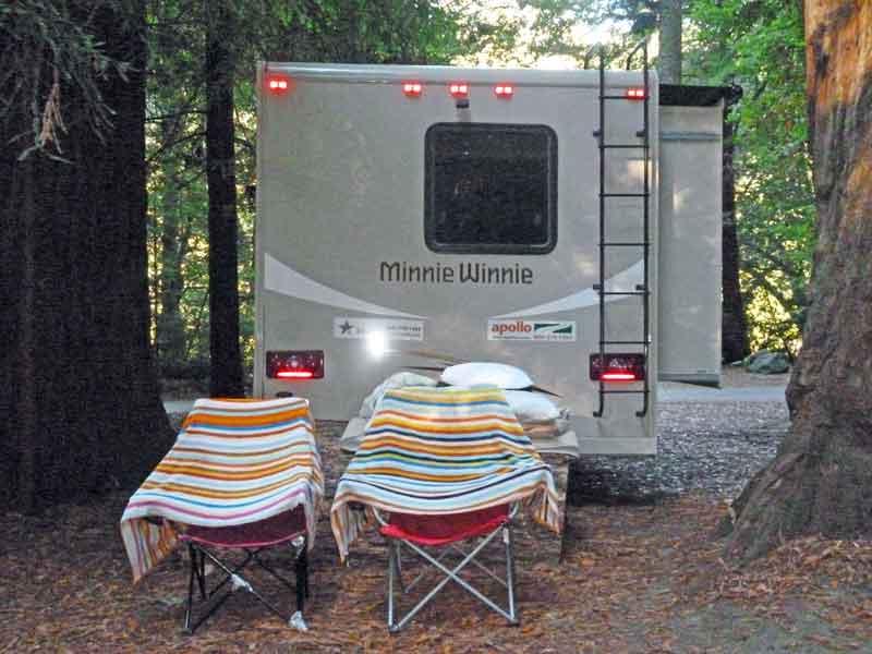 Bild 4 Morgens im Jedediah State Park Campground