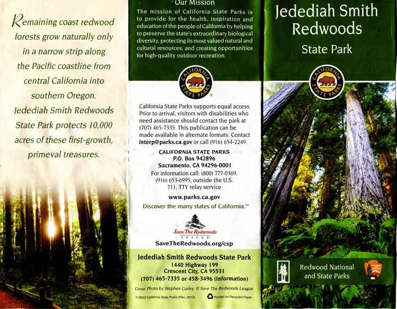 Bild 17 Prospekt vom Jedediah National Park mit Campground