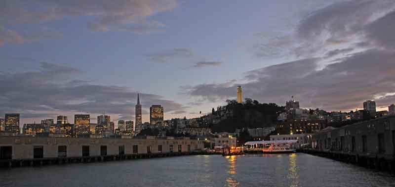 Bild 44 Einfahrt in den Hafen von San Francisco