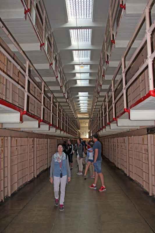 Bild 26 Zellentrakt in Alcatraz