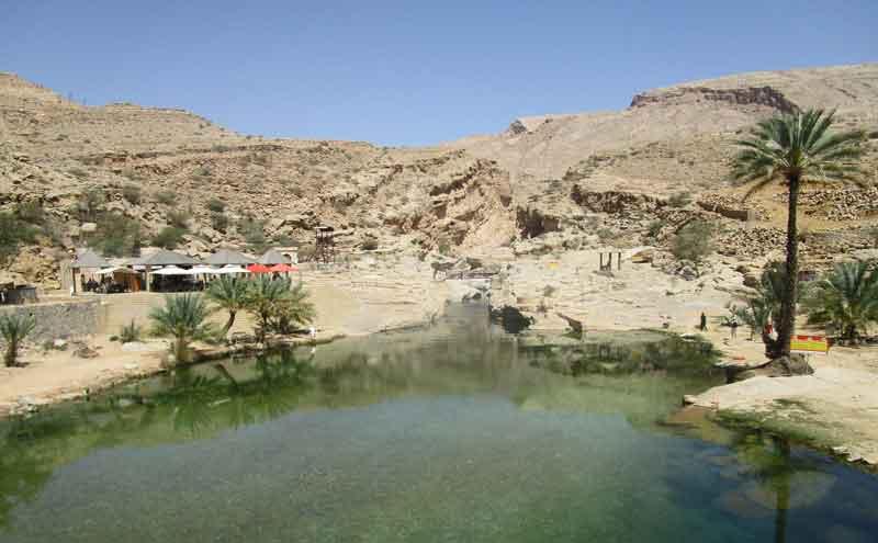 Bild 17 Naturpool im Wadi Bani Khalid