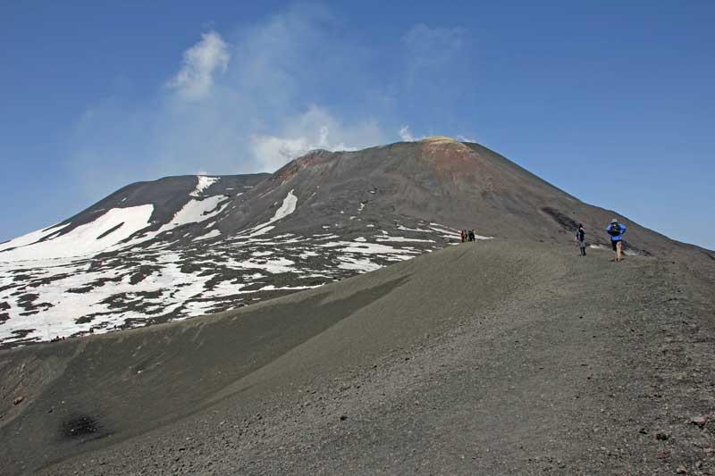 Blick auf den Ätna von der Bergstation