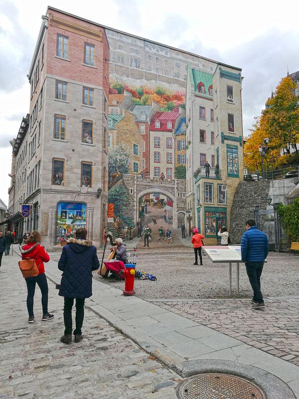 Bild 64 Bummel durch Quebec