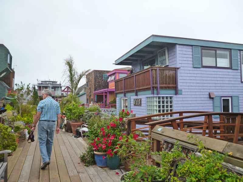 Bild 30 In der Hausbootsiedlung in Sausalito