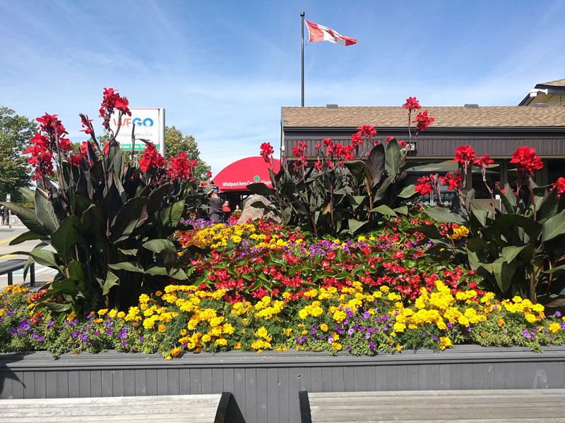 Bild 29 Im Vergnügungsviertel der Stadt Niagara