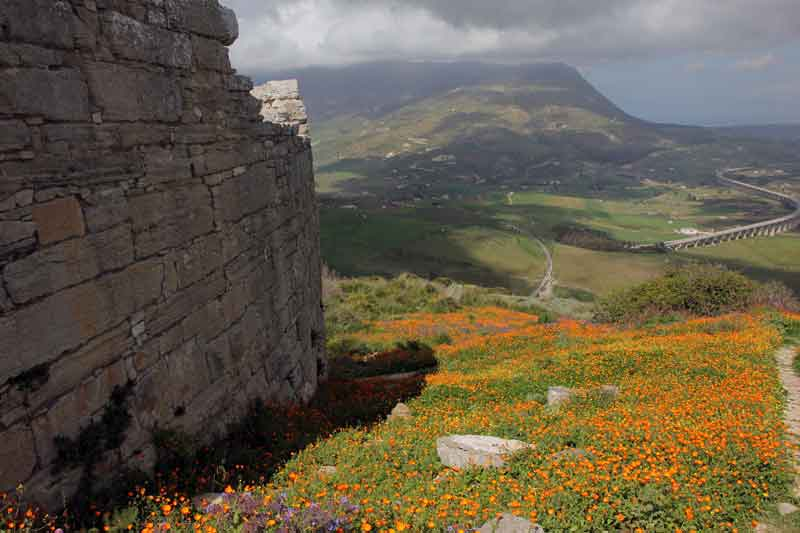 Blick ins Tal vom Theatro