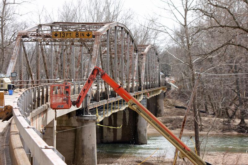 Bild 6 Historische Brücke am Devils Elbow an der Route 66 in Missouri