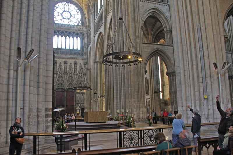 Bild 20 In der Kathedrale von Rouen