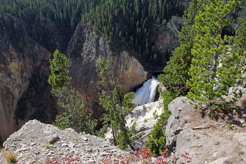 """Bild 19 Yellowstone, am Yellowstone """"Grand Canyon"""""""