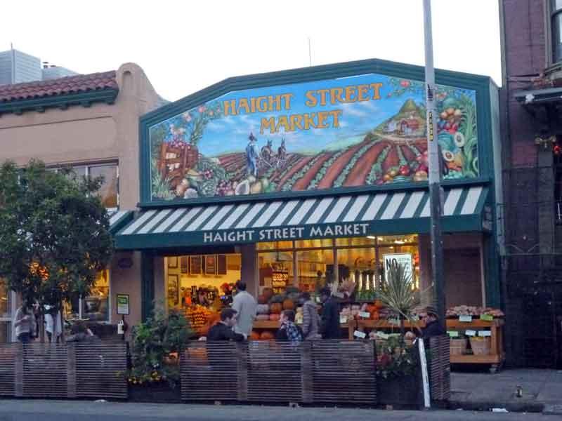 Bild 69 Läden in der Haight Street
