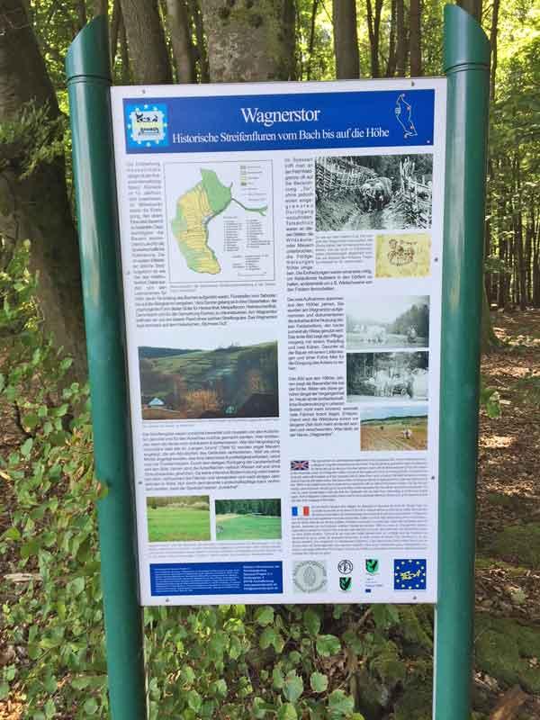 Bild 5 Informationen zum Wagnerstor