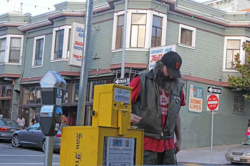 Bild 30 Das Leben in den Straßen von San Francisco
