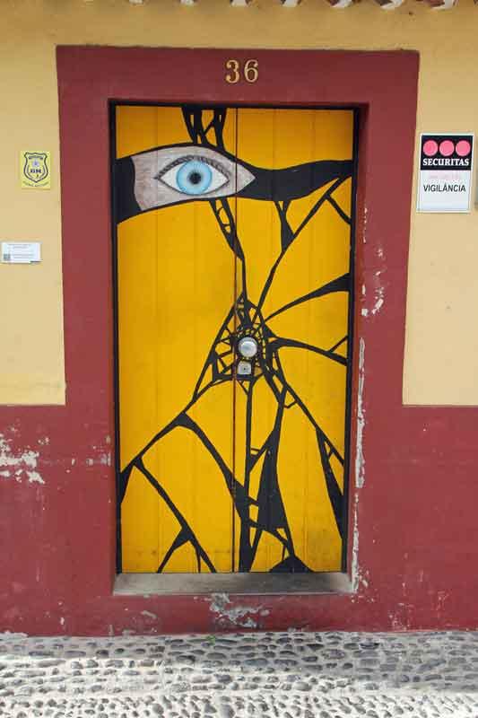 Bild 45 Tolle Haustürbemalungen in Funchal