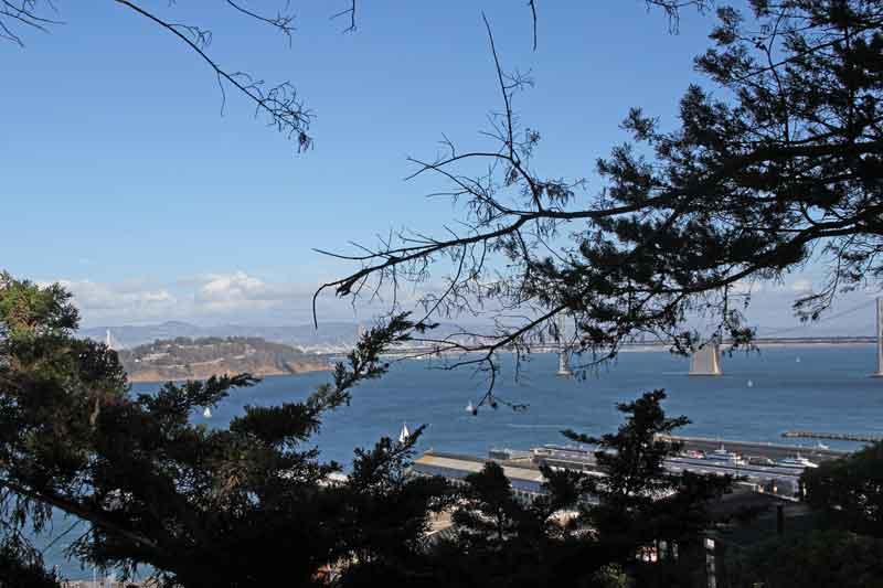 Bild 23 Blick auf SF vom Coit Tower