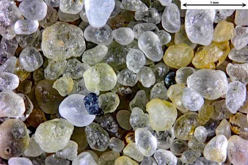 Bild 1 Sand von der Atlantikküste in Arcachon/Frankreich