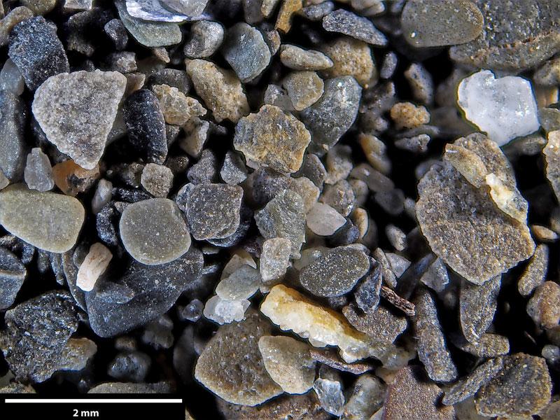Bild 3 Sand aus der Gaspesie, Kanada Quebec