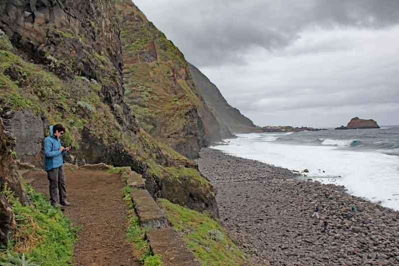 Bild 5 Auf der Nordseite von Madeira