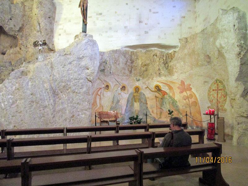 Die Felsenkirche in Monte Sant'Angelo