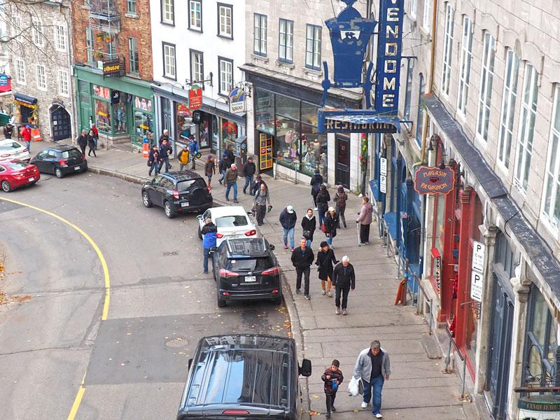 Bild 46 Bummel durch Quebec